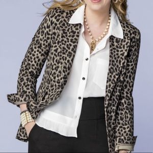 CAbi jungle jacket long blazer